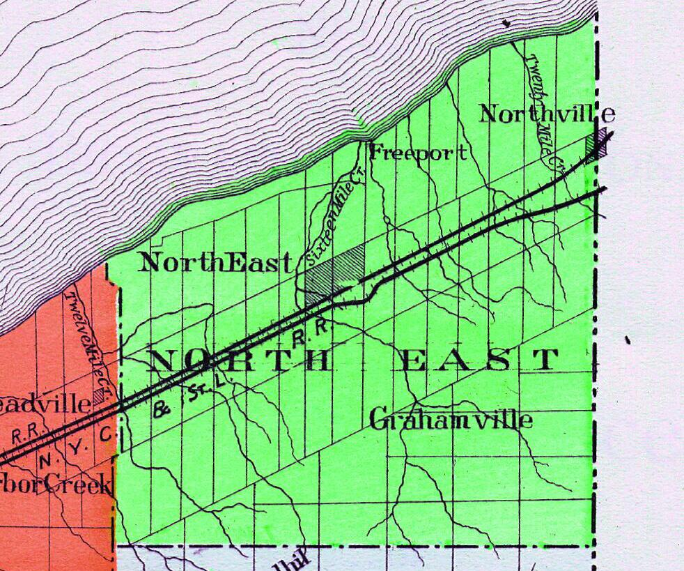 Nelson 1896 North East Township [Nsys024] on