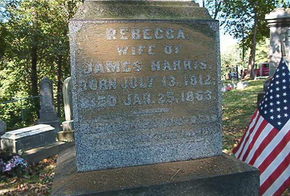 rebecca harris stone  1812 1863