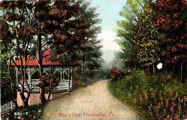 "10/"" x 42/"" 1913 Huntingdon Pa."