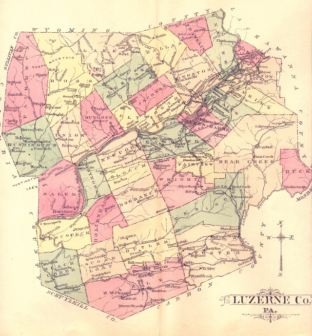 on ge county map
