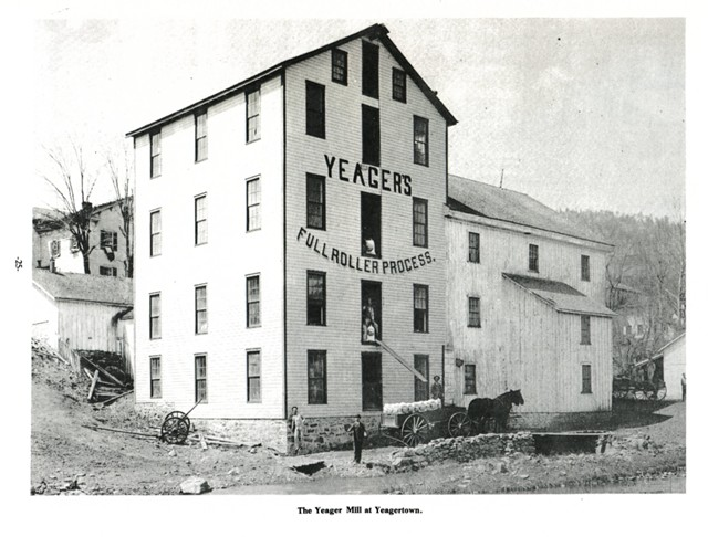 The Yeager Mill at Yeagertown.