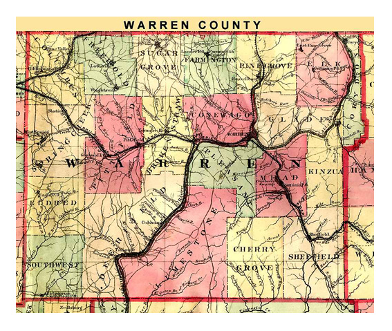 Warren County, Pennsylvania Genealogy, Part of PaGenWeb